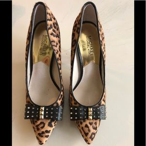 Michael kors devin pumps Excellent condition
